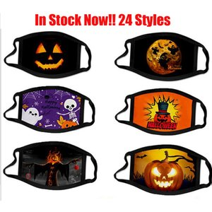 3D Halloween New Fashion Face Mask Dustproof Cotton Masks Designer Washable Reusable Festival Face Mask Personalized Printing Cycling Mask