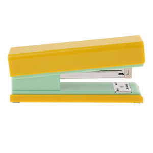 High-End Desktop Staplers for School Office, 20 Sheets, Yellow, Easy to Use