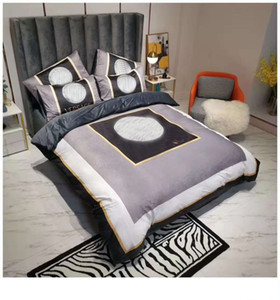 2021 Classic Cover Bedding Sets Fashion Queen Size Luxury Bed Sheets 4pcs Comforter Cover America Popular Bedding Sets