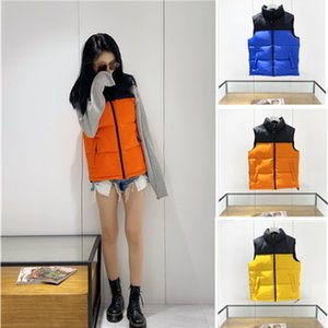 The Men's winter open-shoulder vest jacket zip-up jacket warm Brand Designer Clothes Puffer Jacket women Ladies Outdoor Warm man Fur Coats