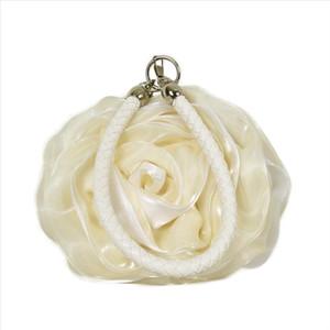 Daiwei Womens Bag Evening Bag Flower Bride Bag Purse Full Dress Party Handbag Wedding Clutch Women Gift Flower