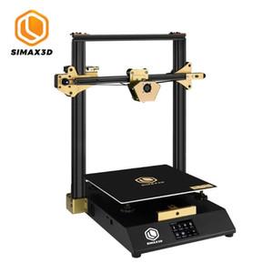 SIMAX-X1 3D принтер Kit High Precision Color сенсорный экран DIY Kit с Возобновить питания Печать Full Metal Рамка для 3D печати