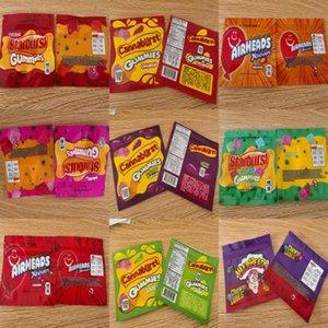 Starburst Sac de Dhl Comestibles Sacs Paquet Zipper récent 408mg Hot 500mg Sac Candy Bag Airhead Zipper Warhead Errlli Emballage yxllf