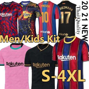 qualità superiore Thailand 19 20 21 camisetas calcio Jersey futbol 2020 2021 BAR camicie calcio calcio