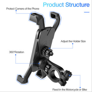 Anti Shake 360° Rotation Adjustable Smartphone Mount Bracket Universal Bicycle Holder Bike Handlebar Mobile Phone Holder Stand