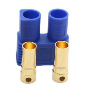 EC3 10 sets of Aircraft connector plug Male and female banana plug 0ML battery connector power car