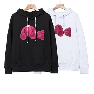 Новые 20ss осень осень зимние мужчины толстовки PA обезглавленные медведь толстовки пуловер хип-хоп с длинным рукавом пуловер свитер толстовки US S-XL