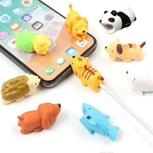 Phone Cord Mobile Design Bites Holder Phone Cable Head Protector Cable Mini Charging Shockproof Toyl Cartoon Animal For Usb Fashion yxlMm
