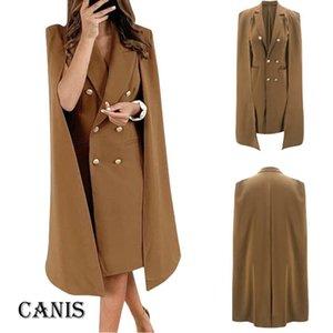 Winter Warm Outwear Female's Coat Lady Women Slim Casual Blazer Top Outwear Long Sleeve Career Formal Long Trench 2020