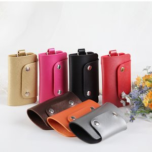 2020 New style home keys wallets fashion men and women pu leather multifunction key chain purse
