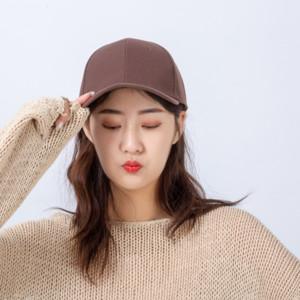 QO7Ps Korean style couple style light plate solid color curved eaves sun hat cap baseball capFlat baseball cap men's summer tide wig hat