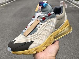 Nuevo lanzamiento Travis Scott X Eng Reacciona Cactus Trails Jack Zapatillas de correr Starfish Dark Hazel Hombres Mujeres Deportes Sneaker
