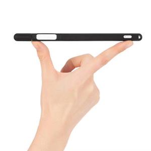 مع تلميح القلم لمس Apple Ipencil لينة السائل قلم ستايلس غطاء سيليكون واقية الجنرال حامي للحصول على الغبار حالة 2 KNcxz car_2010