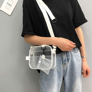 Shoulder Handbag Hot Women Jelly Local Transparent Girl Crossbody PVC Bag Messenger Stock Bcnab