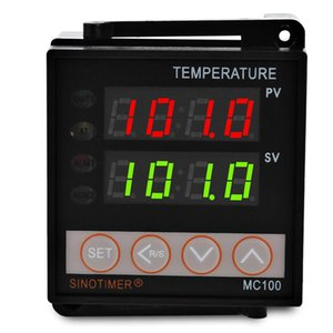Man Intelligent Temperature Controller Thermostat Output Controller Input With Heating Cooling Alarming Function Vb