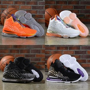 Cheap Basketball Shoes 17 17s Sneakers Kids Men Future Air Lakers 2K In the Arena Signature Black New Arrival 2020 Mens Basket Shoes