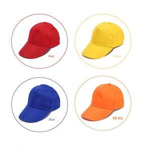 Chapeaux Diy Bénévole Publicité Cap Baseball Sun Printing travail Hat