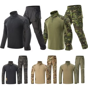 Hunting Pants G3 Suit Tactical Hunting Shirt Combat Uniform Outdoor Tactical Wearing Equipment Shirt Pants With Pads
