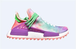 Designer races luxury shoes men 2019 pharrell williams nmd human race women Wave Runner running mens Training top qualit chaussures Sneaker