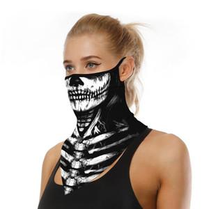 Casual Schal Triangle Bandana Gesichtsmaske Schild Hängen Ohr Breathable Quick-dry Schädel Stirnband Rohr Hals Gamasche Abdeckung Männer Mädchen