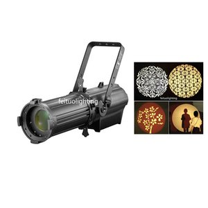 Studio Profile Spot Led Light With Manual Zoom 180w RGB 3in1 200w RGBW 4in1 Led Ellipsoidal Spot Light