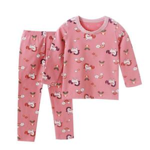 Kids pajamas set children sleepwear baby clothing sets boys girls animal pyjamas cotton nightwear clothes