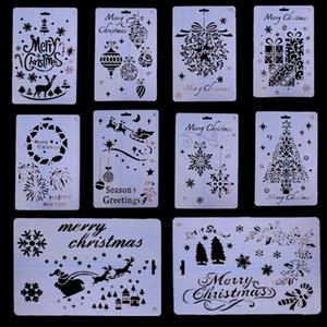 Lace перо рождественской елки подарок Расслоение обойме brids Картина Трафареты помадной Декорирование Инструмент для свадебного торта Шаблон Mold