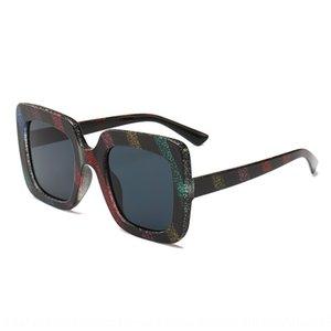 VYBHY de color oro cebolla rayada sol gafas de sol de la plaza tiro de la calle 925 fashionsunglasses