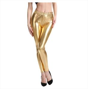 Z30 2020 Spring Autumn Women legging skinny PU leather pencil Leggings slim faux Leather Pants female Thin High Waist Leggings