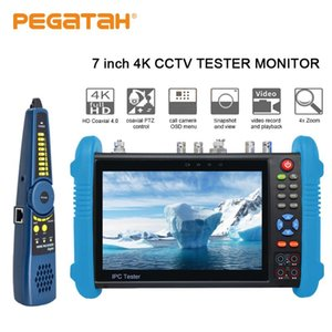 7 polegadas 4K Camera Tester CCTV Tester CCTV Monitor para câmera IP IPC Poe Testers Câmeras CFTV
