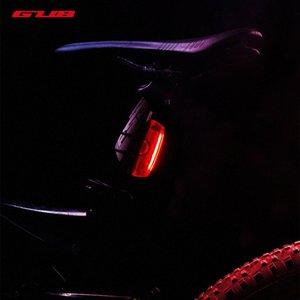 GUB M59 Smart USB Rechargeable Bike Tail Light, Intelligent Speed Induction Brake Ultra Bright LED Waterproof Bicycle Rear Light JQ0L#