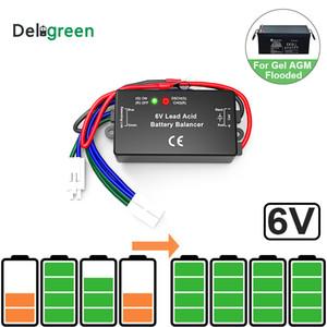 Com Chumbo Led QNBBM 6V Bateria de ácido Equalizer Balancer BMS inundada AGM GELL Bateria Anti-vulcanização, 1pcs Anti-corossion