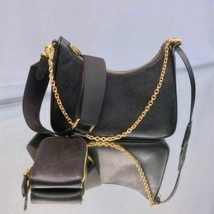 Кожаная сумка бродяги сумка женская одно плечо три-в-одном подмышек мешок моды мешок леди цепь сумка кожа бродяга цепь WALLE