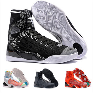 Cheap Sale Mamba Day 9 IX High Weaving BHM Easter Christmas Kids Mens Basketball Shoes for High Qaulitys 9s Sports Sneakers