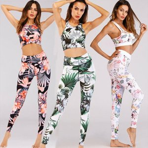 Women Set Sports Bra Stretch Pants Leggings Gym Running Fitness Suit Sport Sets Sleeveless Tops Pants Clothings Clothes Sunsuits