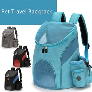Outdoor Double Backpack Foldable Cat And Dog Box Supplies Travel Fashion Pet Carrying Front Bag