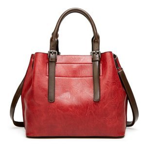Wholesale women's bag European and American fashion shoulder bag Crossbody bag High quality leather handbag tote bags