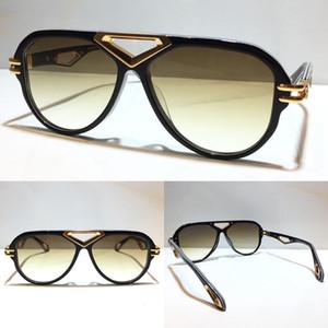 THE JACK I الرجال الذهب نظارات شمسية سيارة شعبية إطار بيضاوي أعلى كمية UV400 في الهواء الطلق أزياء النظارات الشمسية تأتي مع حزمة