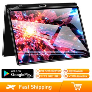 2020 New Design 10 Inch 2.5D Tempered Glass 1920*1200 IPS Screen 3G RAM 32G ROM Android 7.0 4G LTE A-GPS Google Play Netflix
