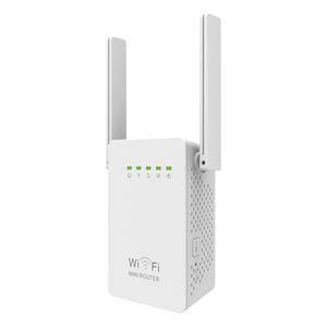Pixlink Router Sem Fio Wi-Fi Repetidor 300M Antenas Dual Antenas Extensor Wi-Fi 802.11n Rede EU / US / UK / AU WR02es