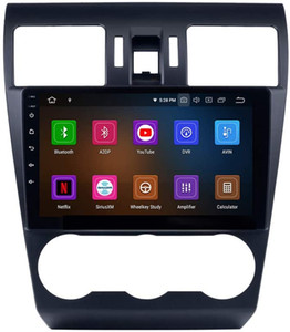 Android 10 9 pouces GPS Navigation Radio pour Subaru Forester 2013 USB Bluetooth carplay WiFi Musique AUX Soutien TPMS