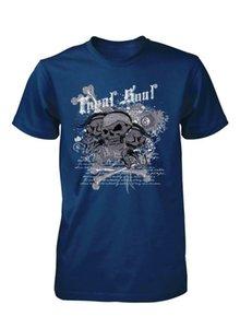 GYPSY SOUL ROYAL CRANIO BANDANA DICE TRENDY ROCK CHILDS scherza la maglietta 3-15 ANNI