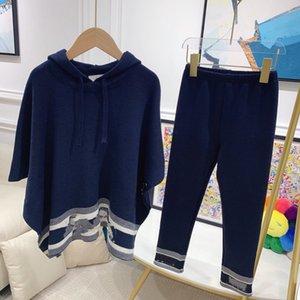 Kızlar Sports yürümeye başlayan 2020 Yeni Moda pantolonunu Giyim Seti Genç İlkbahar Sonbahar Eşofman Çocuk cübbeyi legging ile Hoodie Takımları
