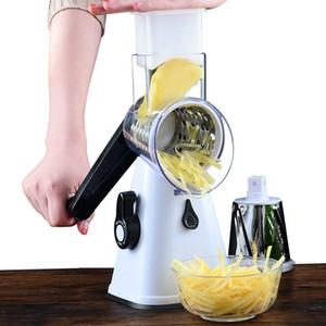 Carrot Vegetable Cutter Round Slicer Graters Potato Cheese Shredder Processor Vegetable Chopper Kitchen Roller Gadgets Tool