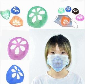 Mask Inner Support Frame Masks Protection Bracket Disposable Mask Nasal Pad Anti Lipstick Off Makeup Anti Tightness Brackets LJJP492