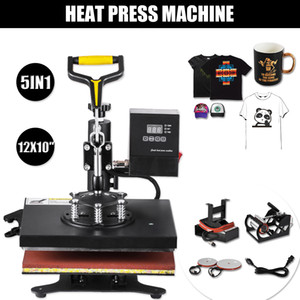 New arrival 5IN1 Heat Press Machine 23X30CM for T-shirts Pants 12