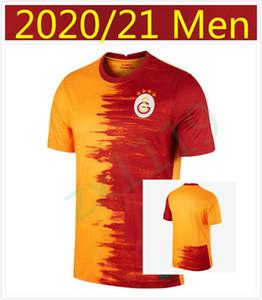20/21 Galatasaray Jerseys 2020 Home Gomis Cigerci Belhanda Fernando FeGhouli Sneijde Oztekin Futebol Camisa Terceiro Futebol