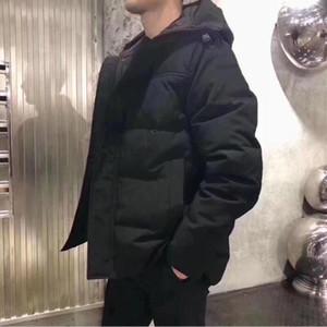 캐나다 겨울 남성 폭격기 옴므 겨울 Jassen Chaquetas 겉옷 큰 모피 후드 Fourrure Manteau 다운 자켓 코트 Hiver Doudoune