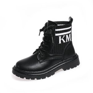 New 2020 autumn winter Girls Boots kids boots princess kids Martin boots kids shoes girls shoes Genuine Leather girls ankle boot B2381