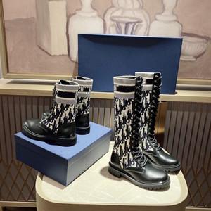 Dior Shoes 2020 stivali al ginocchio Top donna vera pelle stivali autunno / moda gli stivali invernali scarpe di alta qualità scarpe casual formato 35-41
